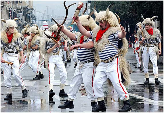 Karneval - Kroatien - Zvoncari