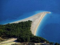 Strand Zlatni rat, Insel Brac
